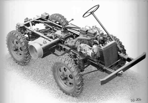Werksbild Fahrgestell Böhringer 70.200