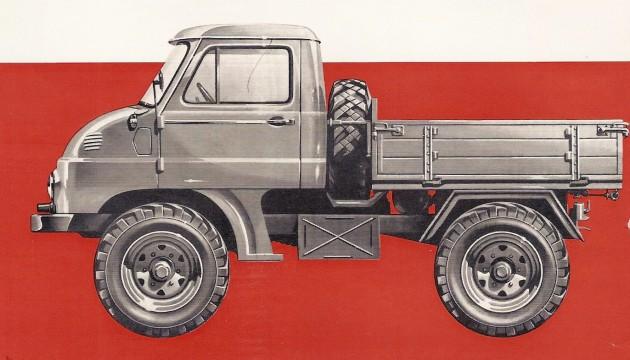 Unimog-30-PS-1958-langer Radstand festes FH