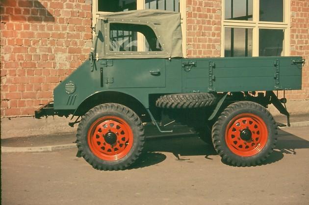 Werksbild Unimog 25 Typ 401.102  Baujahr 1955