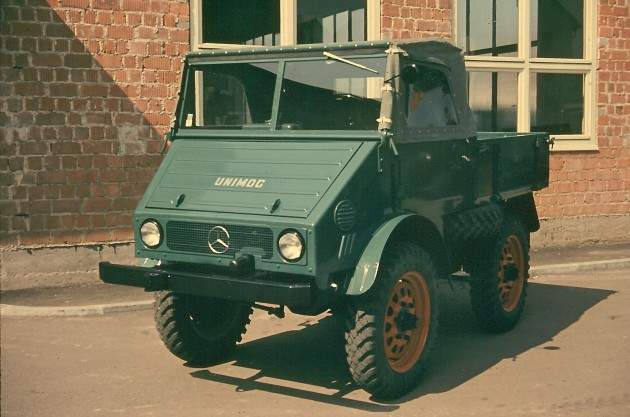 Werksbild Unimog 25 Typ 401.102