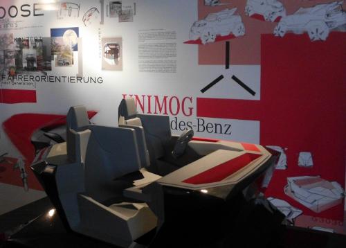 Ausstellung unimog der zukunft ab dem 10 m rz im unimog for Interieur der zukunft