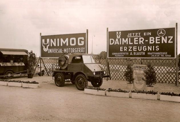 Foto der Woche Blauth Mannheim 1951