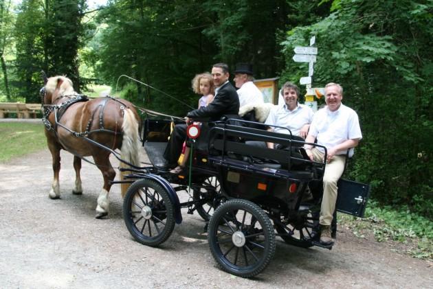 BT Chaisenweg 2013 Kutsche Hurrle OB - Wessel