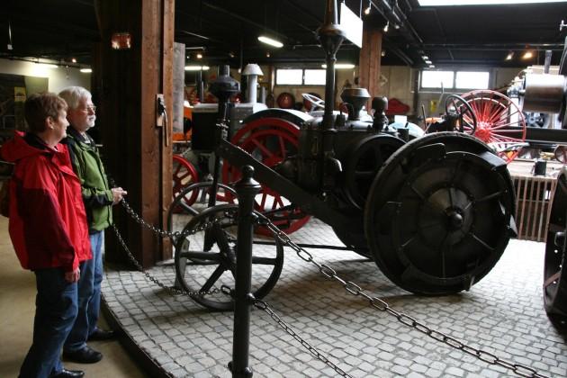 Über 150 Traktoren sind zu bewundern