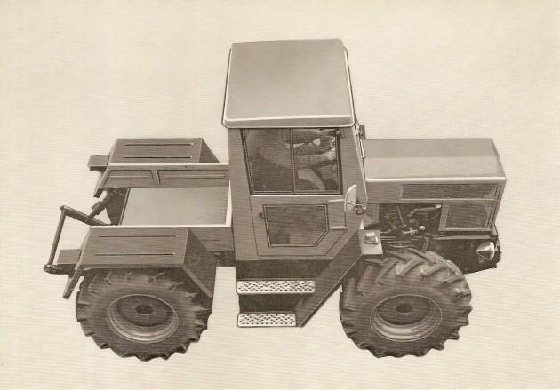 UCOM Bilder MB-trac 65 PS 2 1972 Volkwart Vath