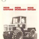 UCOM Bilder MB-trac 65 PS Pospekt 1 1972 Volkwart Vath