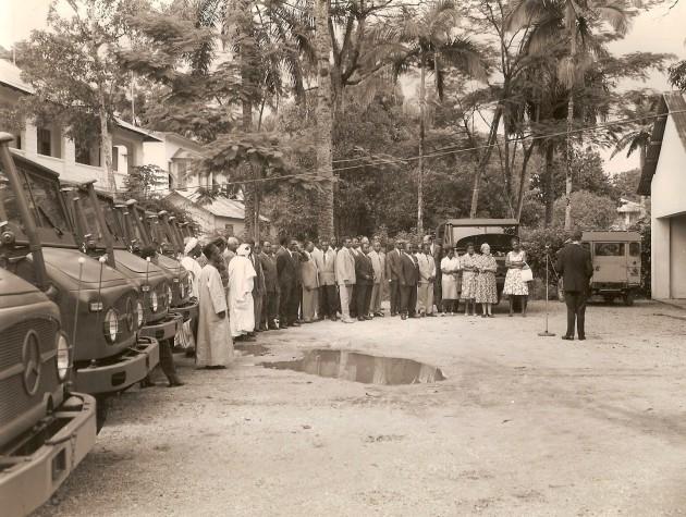 UCOM Kamerun 1961 Unimog-S 2