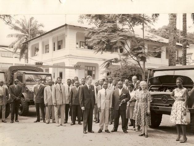 UCOM Kamerun 1961 Unimog-S 3
