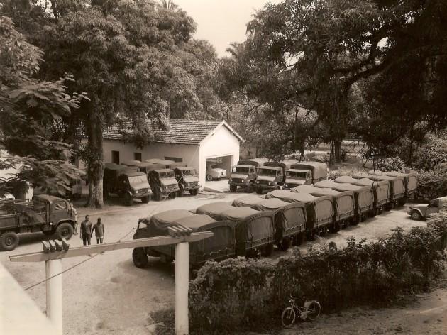 UCOM Kamerun 1961 Unimog-S