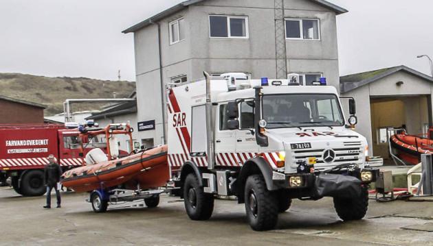 Unimog U 4000 Küstenschutz Dänemark