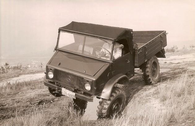 UCOM Unimog-S 11 1954- Daimler