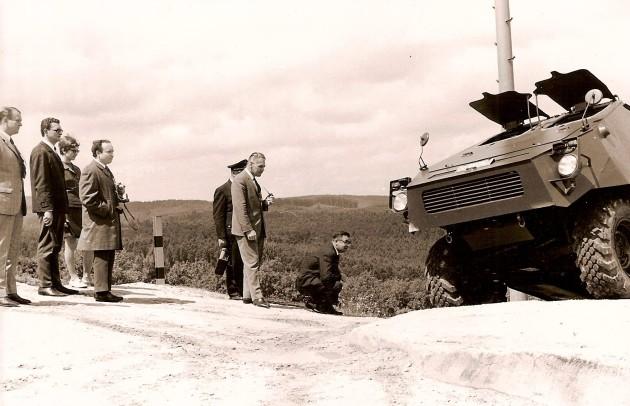 Unimog-S Sauberg 3 gepanzert