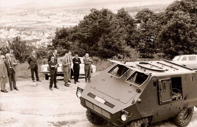 Unimog-S Sauberg 4gepanzert