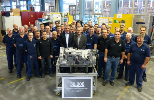 50.000stes Getriebe im Mercedes-Benz Werk Gaggenau Instand gesetzt