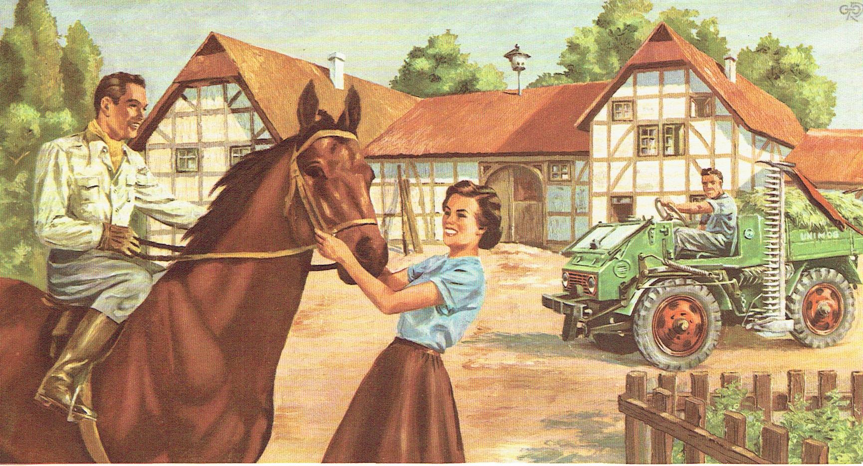 UCOM Kalenderblatt Pferd