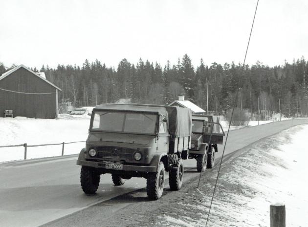 Unimog-S 1955 in Schweden ...
