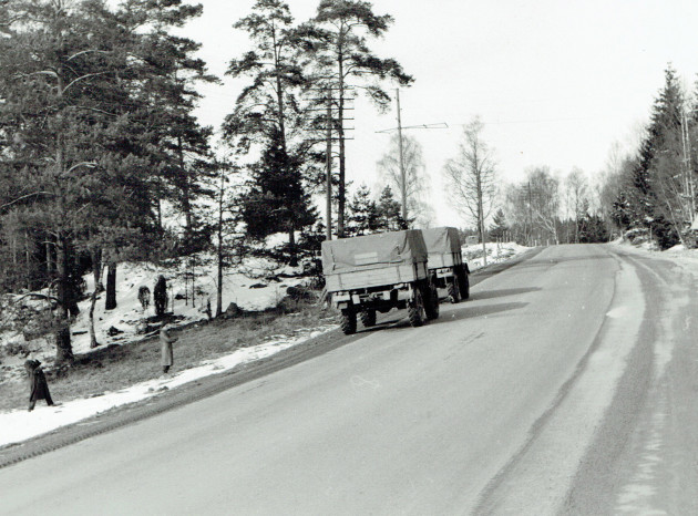 .... unterwegs in Skandinavien 1955