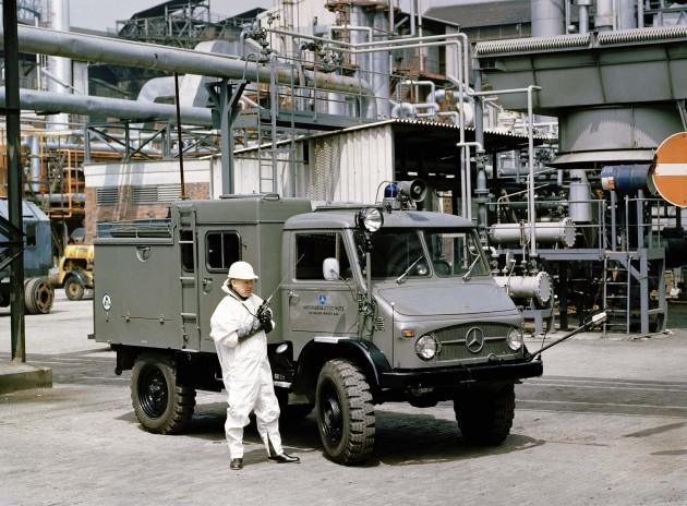 404.1 Dekontaminationsfahrzeug des Werkselbstschutzes