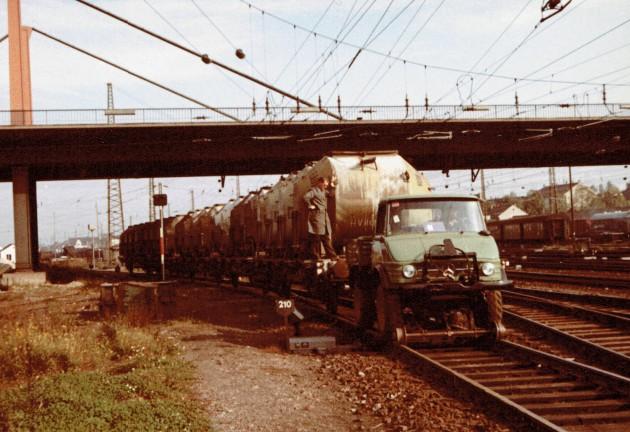 Selbst Güterzüge ließen sich rangieren.