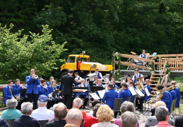 Auftritt der Brass Band MG Oberrüti aus der Schweiz