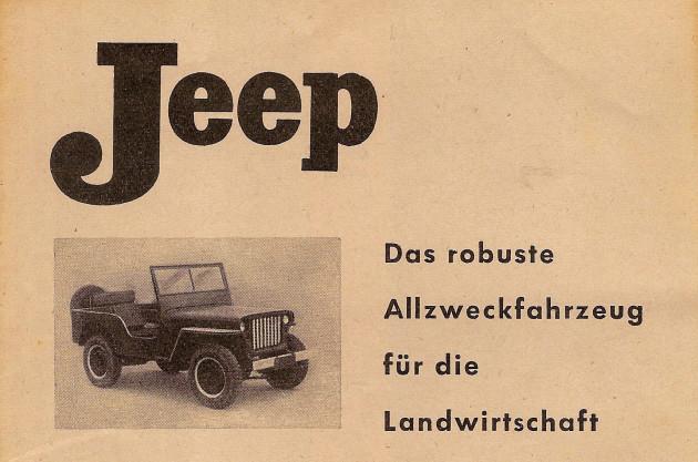 UCOM Jeep-2 Prospekttitel