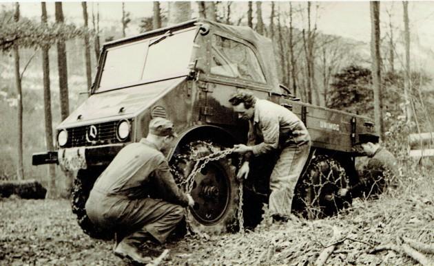 UCOM Albus Ketten auflegen 401 1955