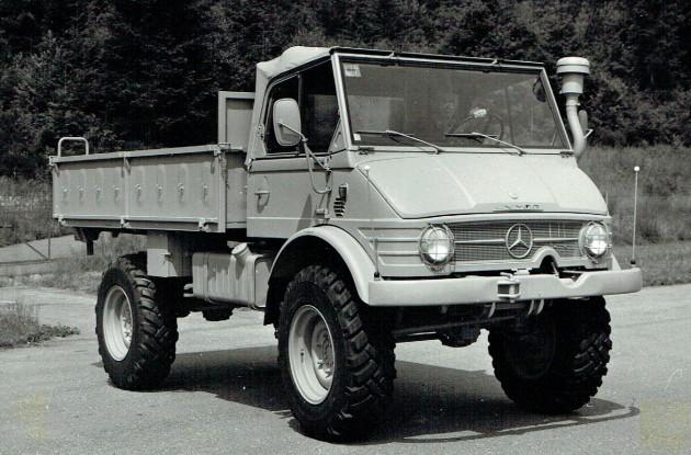 UCOM U 416 100 PS Aegypten mil Daimler