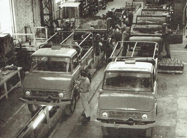 Unimog-Montage in Argentinien 1969 - 1971