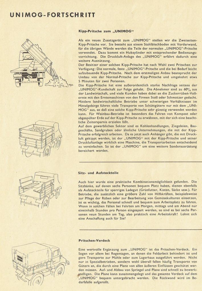 UCOM Ratgeber Unimog-Fortschritt 1