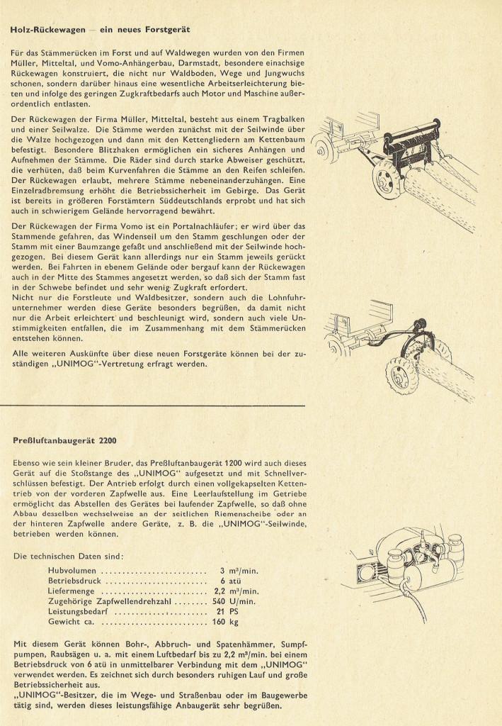 UCOM Ratgeber Unimog-Fortschritt 2