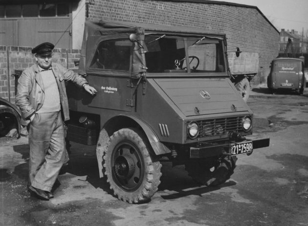 Gut Luisenberg, Kellinghusen - Fahrer Preuß Marz 1954