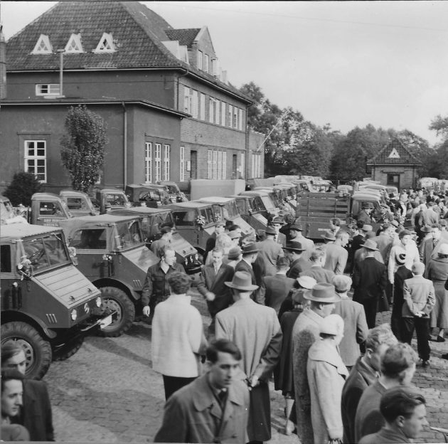 Sternfahrt Leer Ostfr. Okt. 1956 Schelten-Petersen & Co.