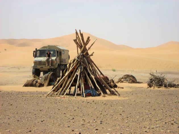 Nomadencamp Erg Chebbi; Foto Ehmer