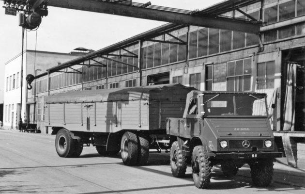 Unimog U30, Baureihe 411 Zugmaschine