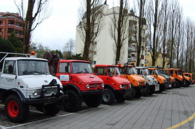 2015 zeigte der Unimog-Club Schweiz in Luzern bereits eine attraktive Unimog-Parade