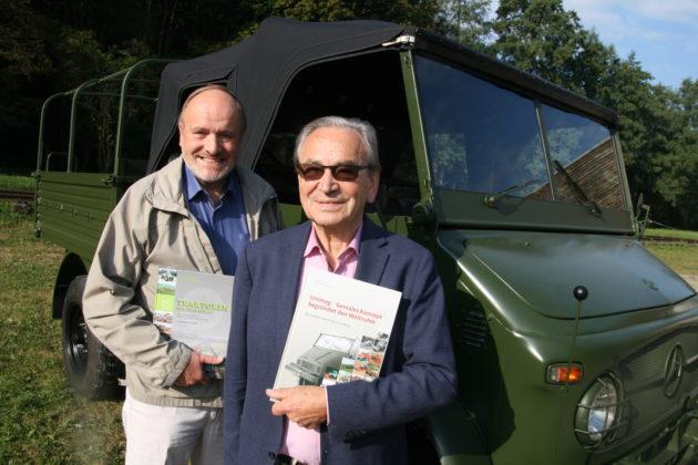 Die Autoren Werner Schmeing und Hans-Jürgen Wischhof (v.l.)