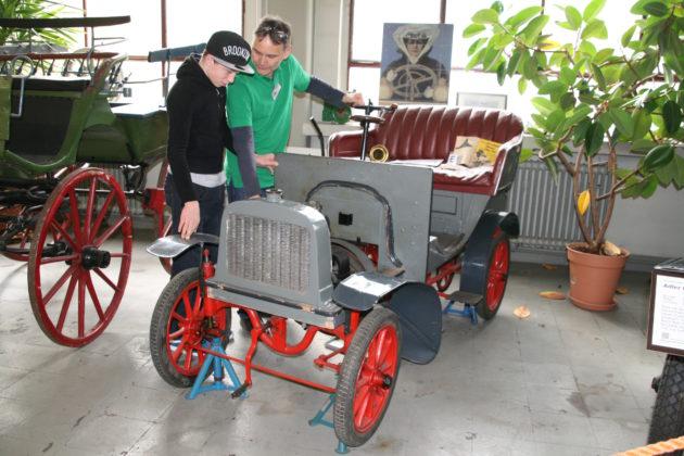 Dieser Liliput aus dem Verkehrsmuseum Karlsruhe wird zu sehen sein.