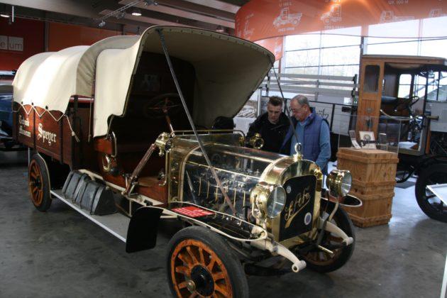 Der älteste noch erhaltene Lastwagen der Welt stammt aus der Süddeutschen Automobilfabrik Gaggenau