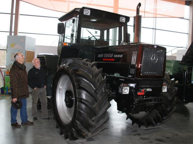 Der letzte in Gaggenau gebaute MB-trac 1800 intercooler steht im Unimog-Museum